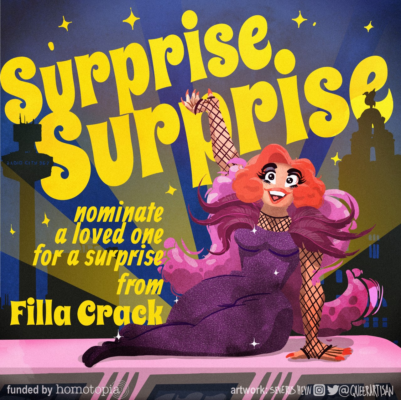 Surprise, Surprise with Filla Crack