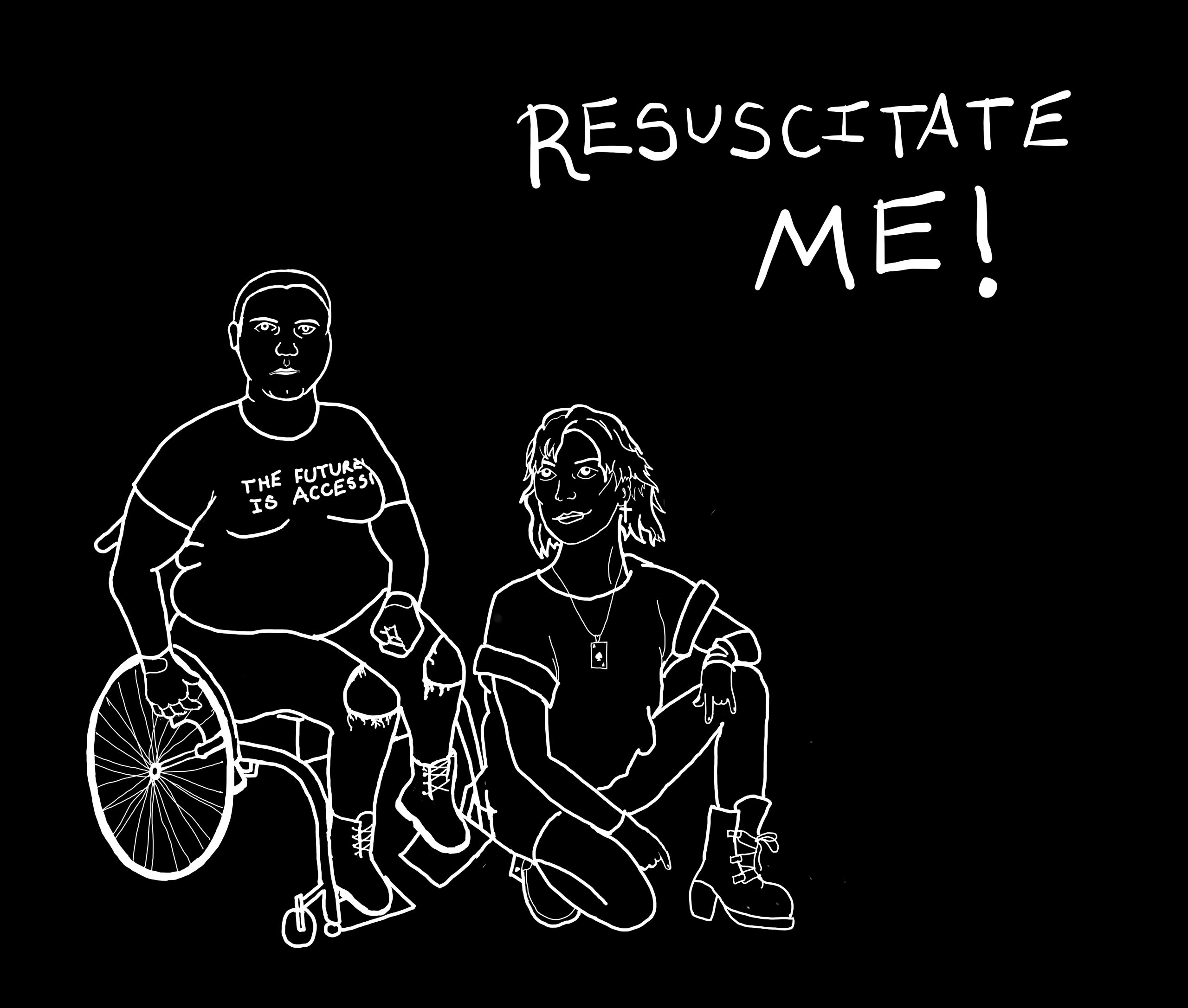 Resuscitate Me! by Katie Walters & Ace Ambrose