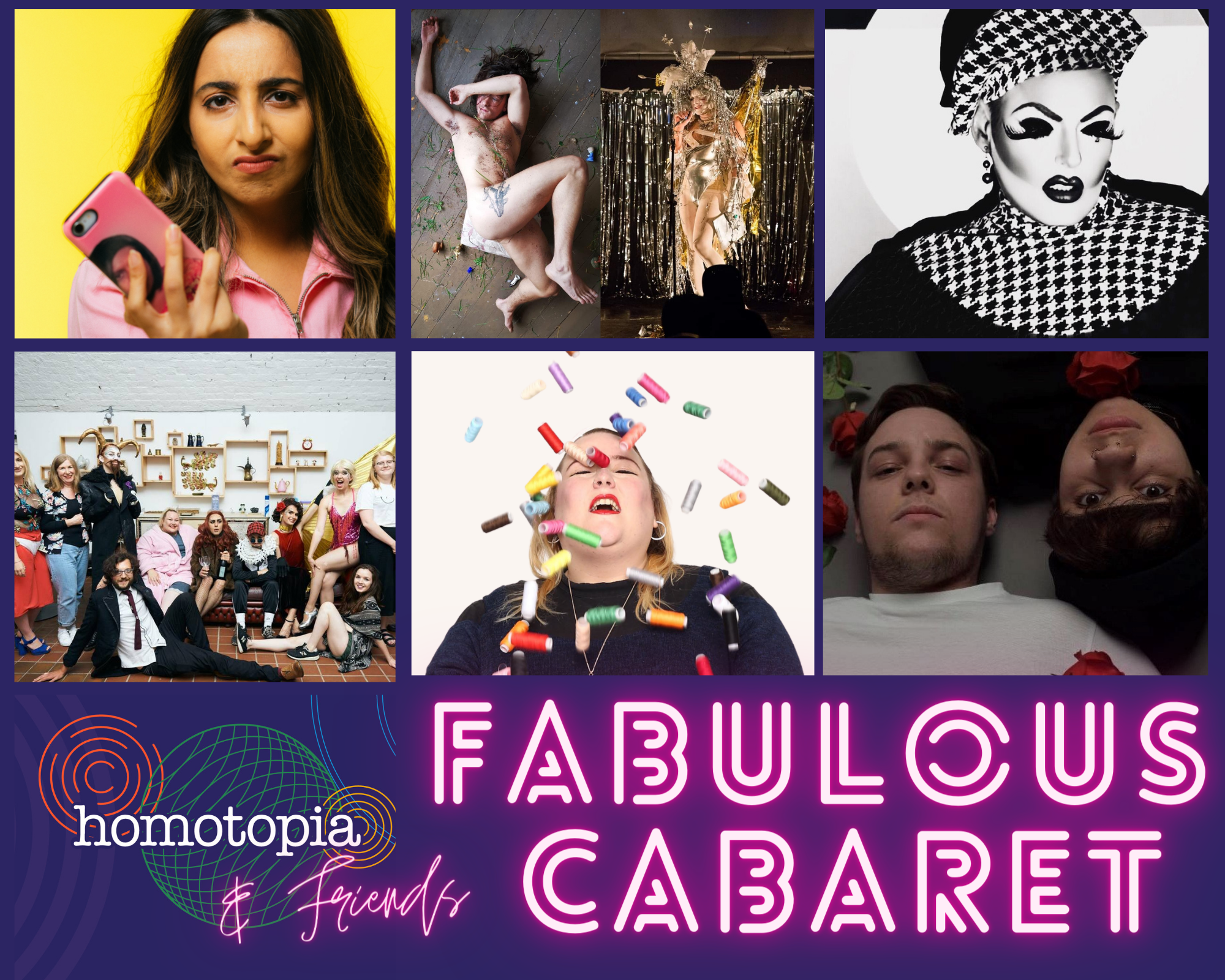 Homotopia and Friends Fabulous Cabaret