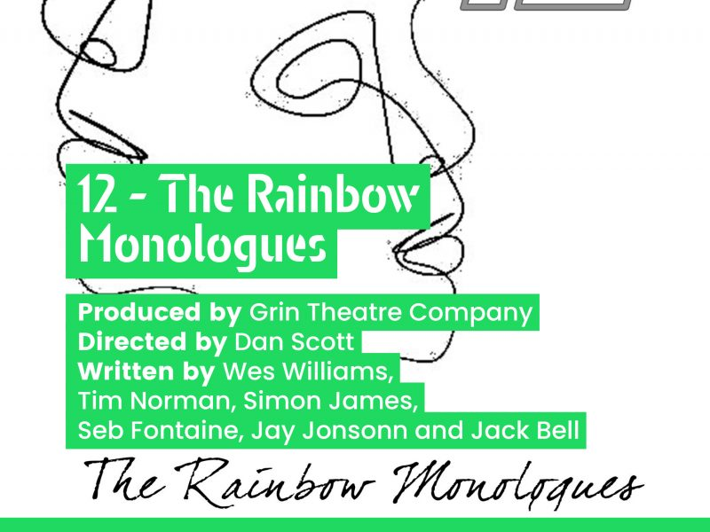 (Past Event) 18th July 12 - The Rainbow Monologues (Little Liverpool Theatre Festival)