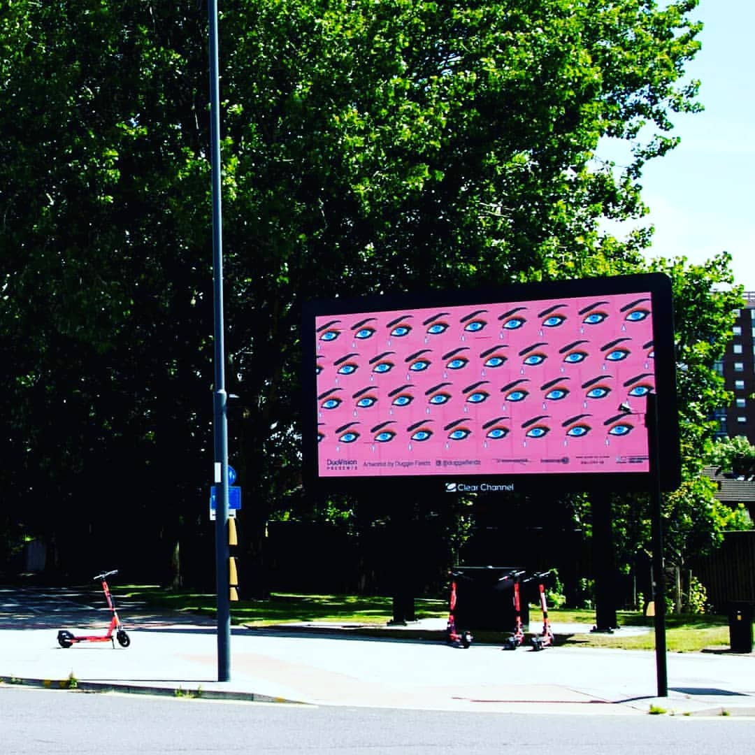 (Past Event) Until 25th July DuoVision Billboards