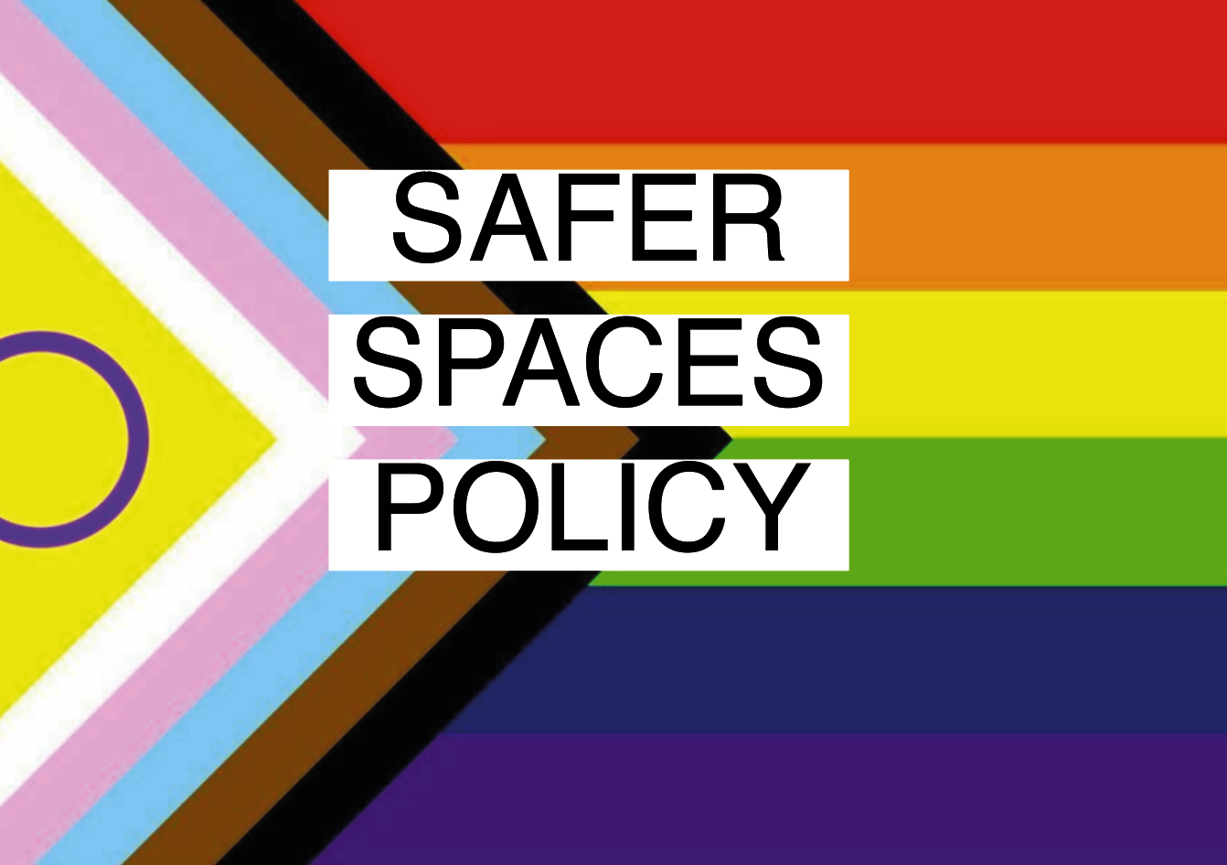 Safer Spaces Policy