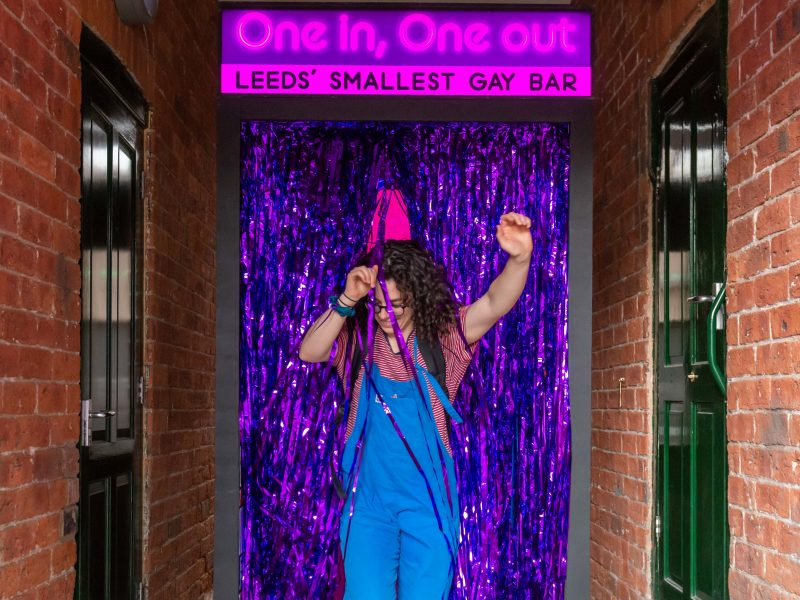One in, One Out: Liverpool's Smallest Gay Bar